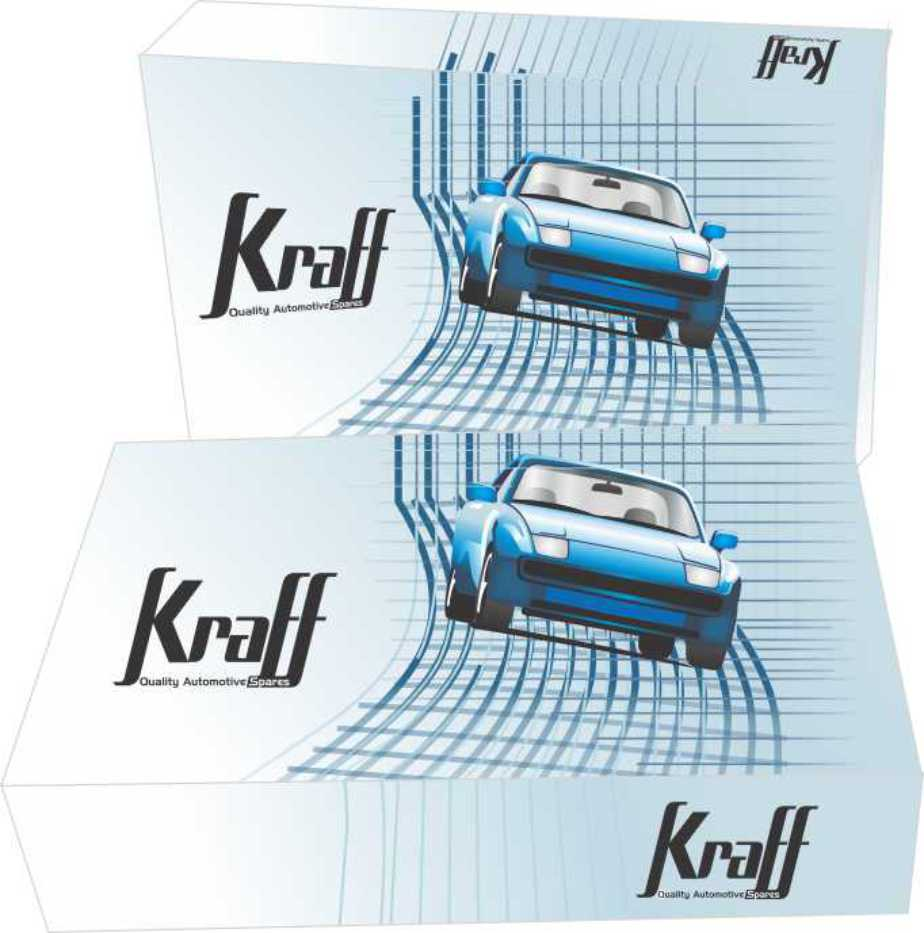 kraff automotive parts box design