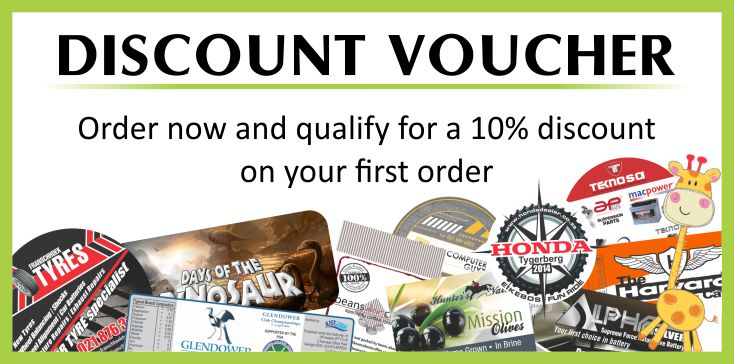 labels discount voucher