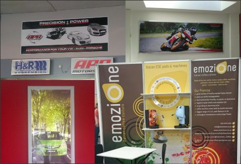 DISPLAYS AND EXHIBITIONS