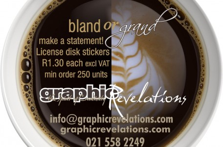 winter license disk promo bland or grand