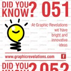 did you know 051