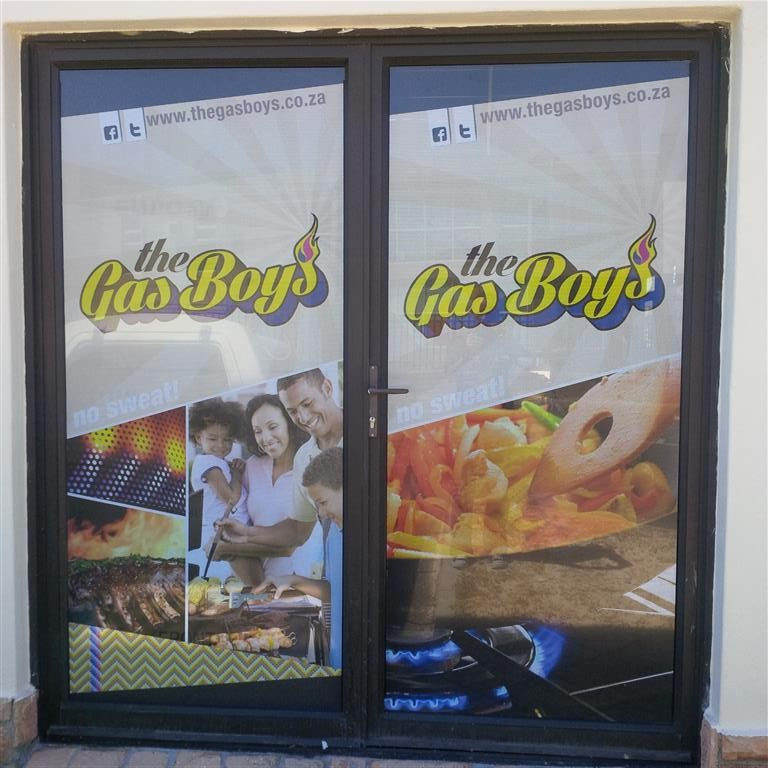 Gas Boys contravision doors