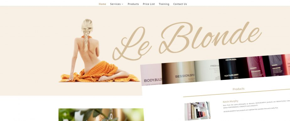 salon le blonde
